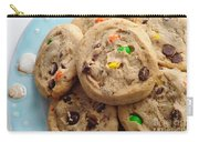 M And M - Chocolate Chip - Cookies - Bakery Shop Carry-all Pouch