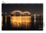 The Hernando De Soto Bridge M Bridge Or Dolly Parton Bridge Memphis Tn  Carry-all Pouch