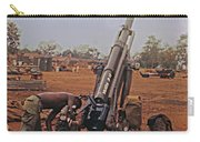 M102 105mm Light Towed Howitzer  2 9th Arty At Lz Oasis R Vietnam 1969 Carry-all Pouch