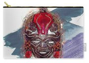 Maasai Mask - The Rain God Ngai Carry-all Pouch