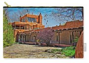 Mabel Dodge Luhan's Courtyard Carry-all Pouch