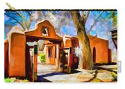 Mabel's Gate As Oil Painting Carry-all Pouch