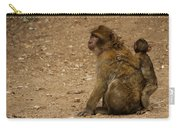 Macaque Monkeys Carry-all Pouch