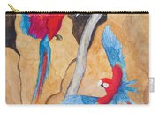Macaw Claylick Carry-all Pouch