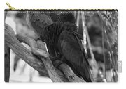 Macaws Of Color B W 15 Carry-all Pouch