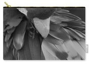 Macaws Of Color B W 16 Carry-all Pouch