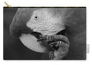 Macaws Of Color B W 18 Carry-all Pouch