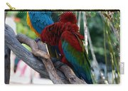 Macaws Of Color24 Carry-all Pouch