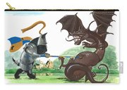 Macduff And The Dragon Carry-all Pouch by Margaryta Yermolayeva