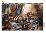 Machinist - Fire Department Lathe Carry-all Pouch by Mike Savad