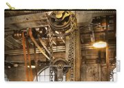 Machinist - In The Age Of Industry Carry-all Pouch by Mike Savad