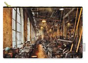 Machinist - Machine Shop Circa 1900's Carry-all Pouch by Mike Savad