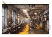 Machinist - Santa's Old Workshop Carry-all Pouch by Mike Savad