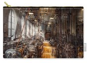 Machinist - Welcome To The Workshop Carry-all Pouch by Mike Savad