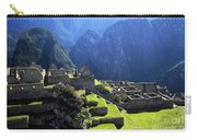 Machu Picchu And Urubamba Canyon Carry-all Pouch