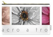 Macro A Trois Poster Carry-all Pouch