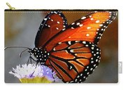 Macro Butterfly Carry-all Pouch