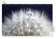 Macro Dandelion Carry-all Pouch