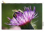 Macro Micro Bee Carry-all Pouch