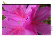 Macro Purple Azalea Flower Carry-all Pouch