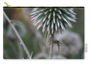 Macro Seed Head Of Round Headed Garlic  Carry-all Pouch