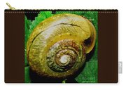 Macro Snail Shell Carry-all Pouch