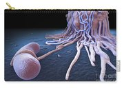 Macrophage Fighting Bacteria Carry-all Pouch