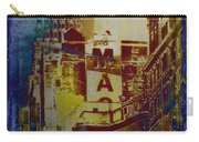 Macys Three - Neo-grundge - Famous Buildings And Landmarks Of New York City Carry-all Pouch