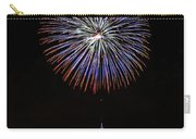 Fireworks Over The Empire State Building Carry-all Pouch by Nishanth Gopinathan