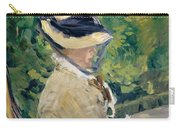 Madame Manet At Bellevue Carry-all Pouch