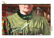 Madame Marie Curie Shaking Up A Killer Martini At The Swank Hipster Club 88 20140625 With Text Carry-all Pouch