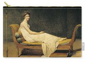 Madame Recamier Carry-all Pouch