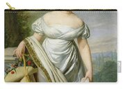 Madame Tallien 1773-1835 Oil On Canvas Carry-all Pouch