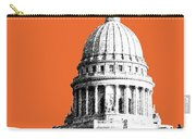 Madison Capital Building - Coral Carry-all Pouch