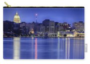 Madison Skyline Reflection Carry-all Pouch by Sebastian Musial