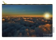Madison Wi Sunset At 30000 Carry-all Pouch