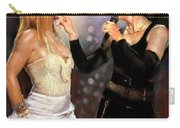 Madonna And Britney Spears  Carry-all Pouch