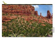 Madonna And Child Two Nuns Rock Formations Sedona Arizona Carry-all Pouch