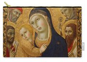Madonna And Child With Saints Jerome John The Baptist Bernardino And Bartholomew Carry-all Pouch