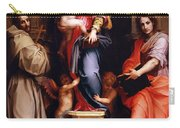 Madonna Of The Harpies Carry-all Pouch