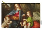 Madonna Of The Rocks Carry-all Pouch