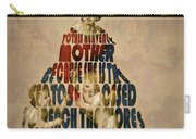 Madonna Typography Artwork Carry-all Pouch