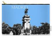 Madrid Skyline Retiro Park - Light Blue Carry-all Pouch
