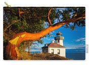 Madrone And Lighthouse Carry-all Pouch