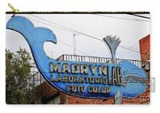 Madryn Lab Whale Sign Carry-all Pouch
