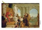 Maecenas Presenting The Liberal Arts To The Emperor Augustus Carry-all Pouch