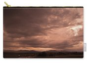 Magenta Clouds Carry-all Pouch