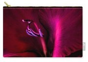 Magenta Gladiola Flower Carry-all Pouch