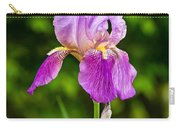 Magenta Iris Profile Carry-all Pouch