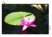 Magenta Lily Monet Carry-all Pouch